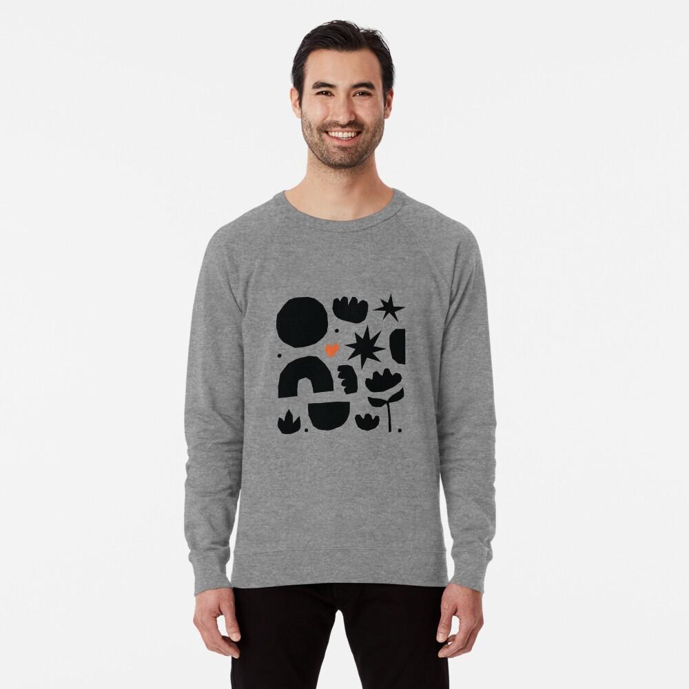 My abstract garden Lightweight Sweatshirt