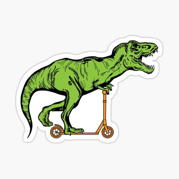 T-Rex trottinette Sticker