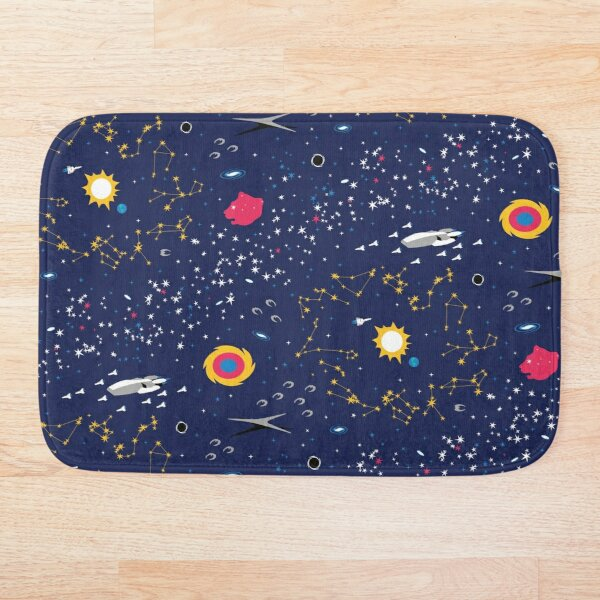The Way to Earth Bath Mat