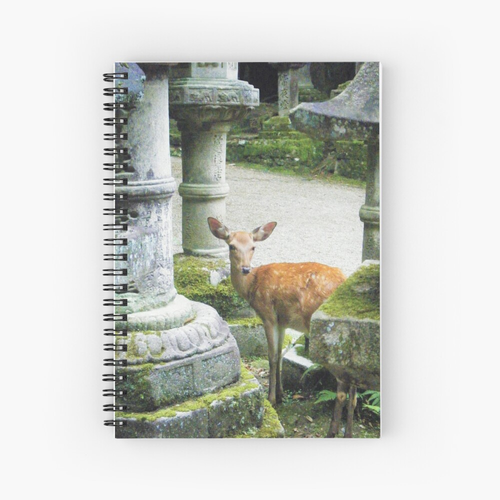 Nara 2 Spiral Notebook