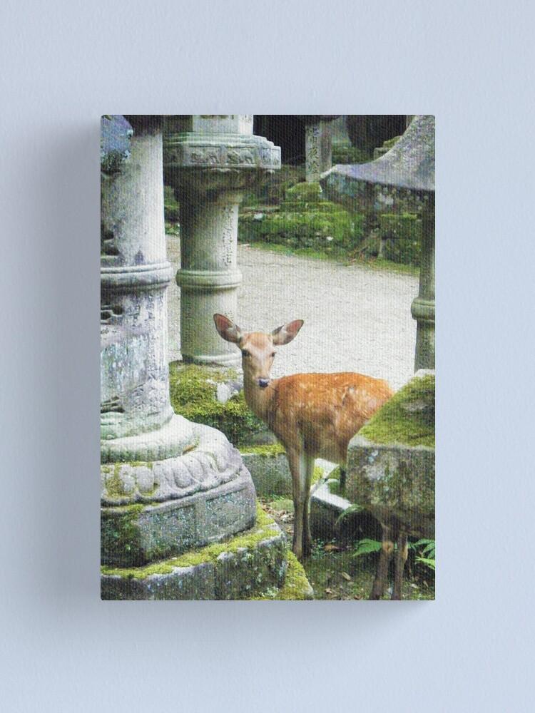 Alternate view of Nara 2 Canvas Print