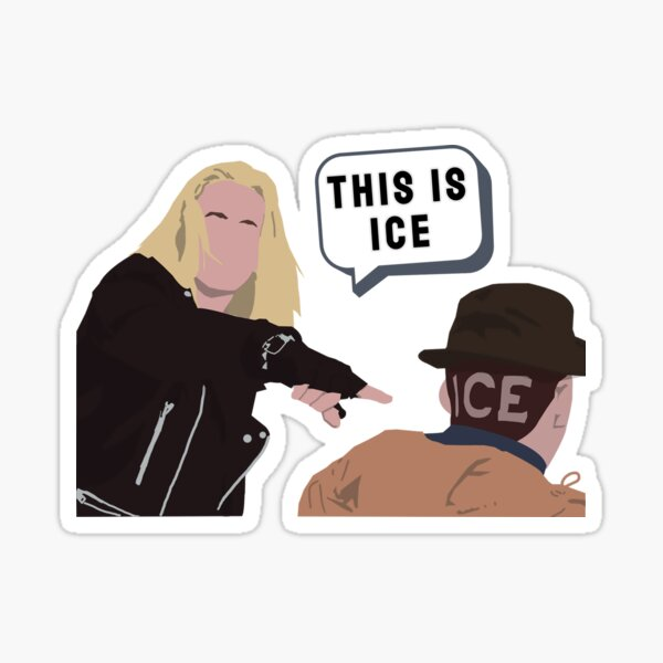 This is Ice Sticker