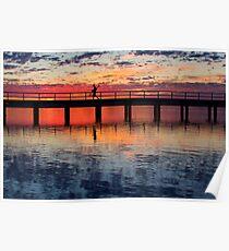 The Crabber - Leschenault Estuary - Western Australia Poster