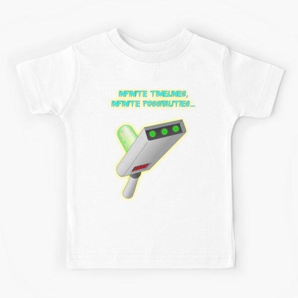 Infinite timelines, Infinite possibilities... Kids T-Shirt