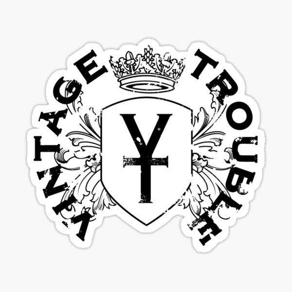 Vintage Trouble Band Logo Sticker