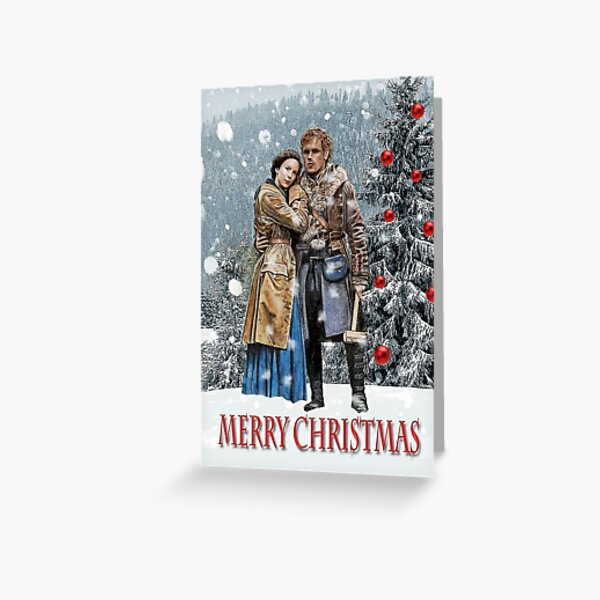 Christmas Outlander Greeting Card