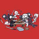 Ninja Holiday by dooomcat