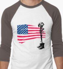 Fallen Soldier Men's Baseball ¾ T-Shirt