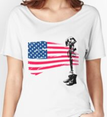 Fallen Soldier Women's Relaxed Fit T-Shirt