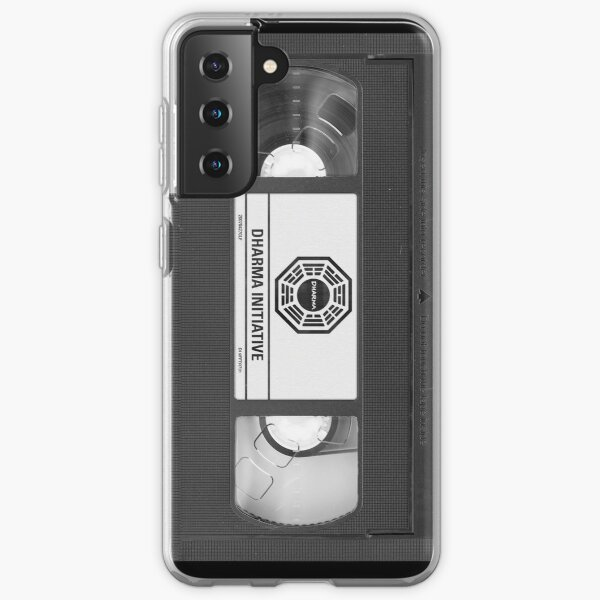 Dharma Initiative VHS - Orientation Tape (LOST) Samsung Galaxy Soft Case