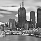 Monochrome Melbourne by John Violet