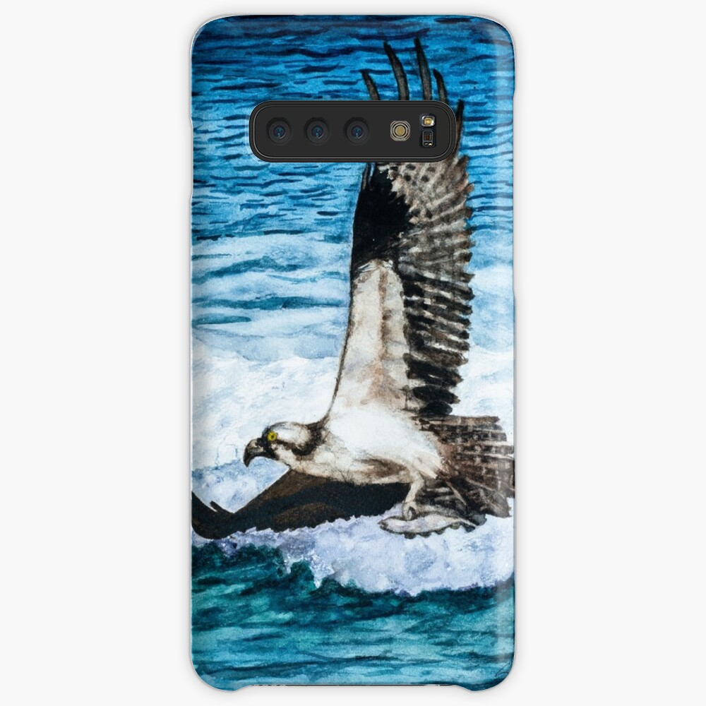 Flying Home With Dinner - Watercolor Art Case & Skin for Samsung Galaxy