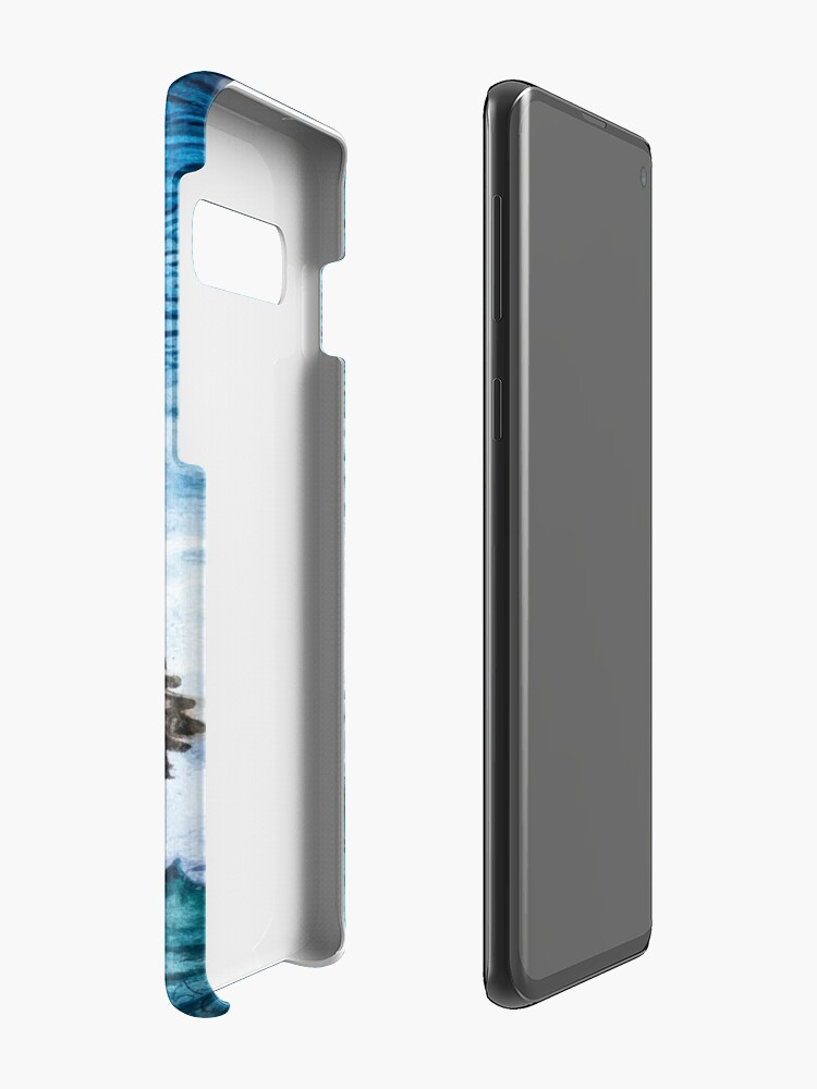 Alternate view of Flying Home With Dinner - Watercolor Art Case & Skin for Samsung Galaxy