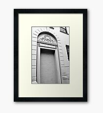 """Tough Bricks!"" Framed Print"