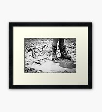 Puddle Stomping Framed Print