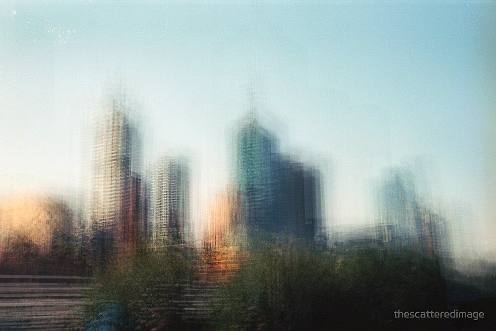 The Metropolis: Evening by thescatteredimage