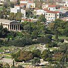 Temple of Hephaistos by tarsia