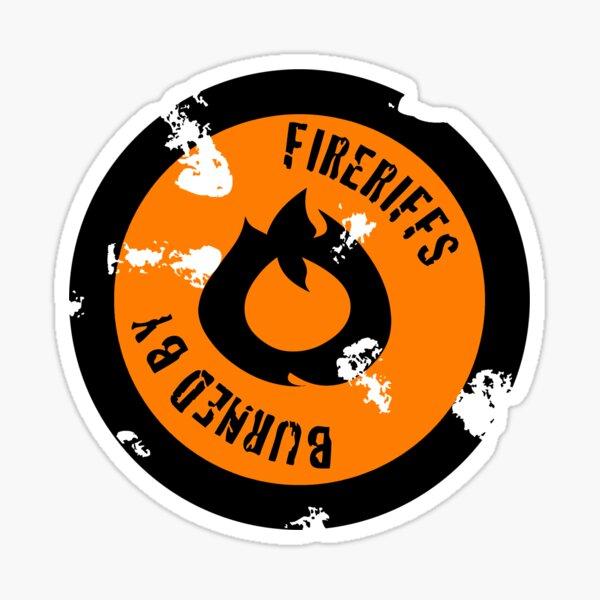 FireRiffs Logo Classic Sticker