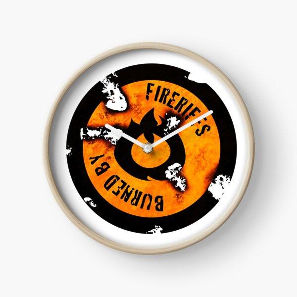 FireRiffs Logo Extra Crispy Clock