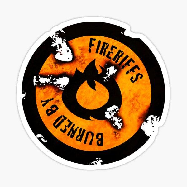 FireRiffs Logo Extra Crispy Sticker