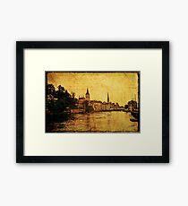 Zurich 1968 Framed Print