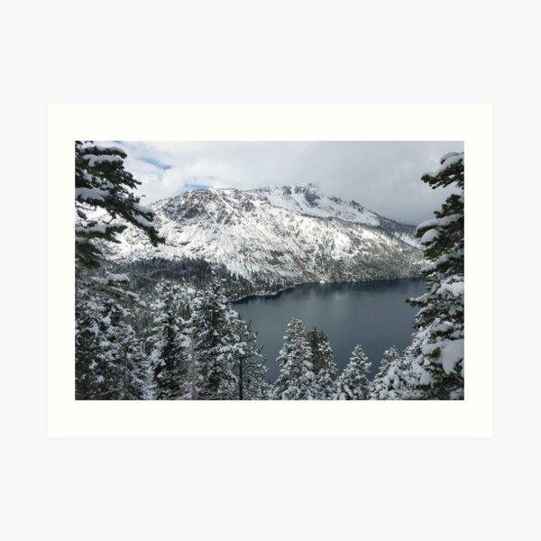 Fallen Leaf Lake and Mount Tallac Art Print