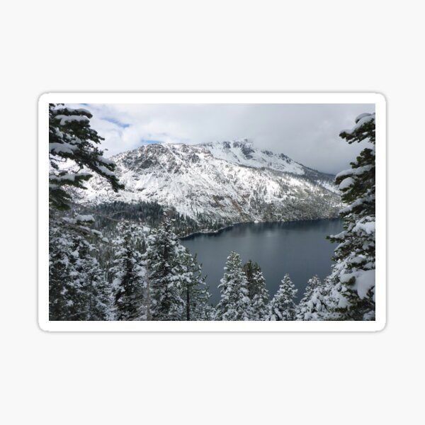 Fallen Leaf Lake and Mount Tallac Sticker