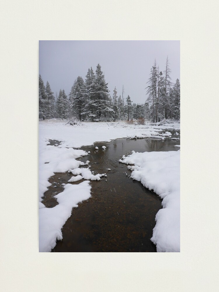 Alternate view of Cold Creek Photographic Print