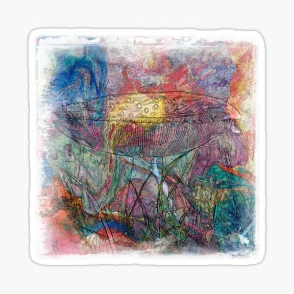 The Atlas Of Dreams - Color Plate 49 Sticker