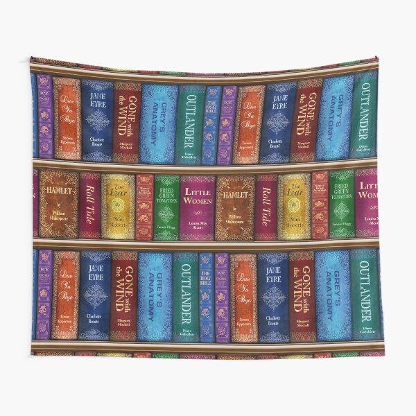Teresa's Bookshelf Tapestry