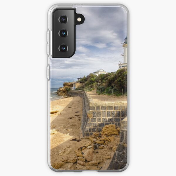 Point Lonsdale Lighthouse, Victoria, Australia Samsung Galaxy Soft Case