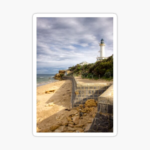 Point Lonsdale Lighthouse, Victoria, Australia Sticker