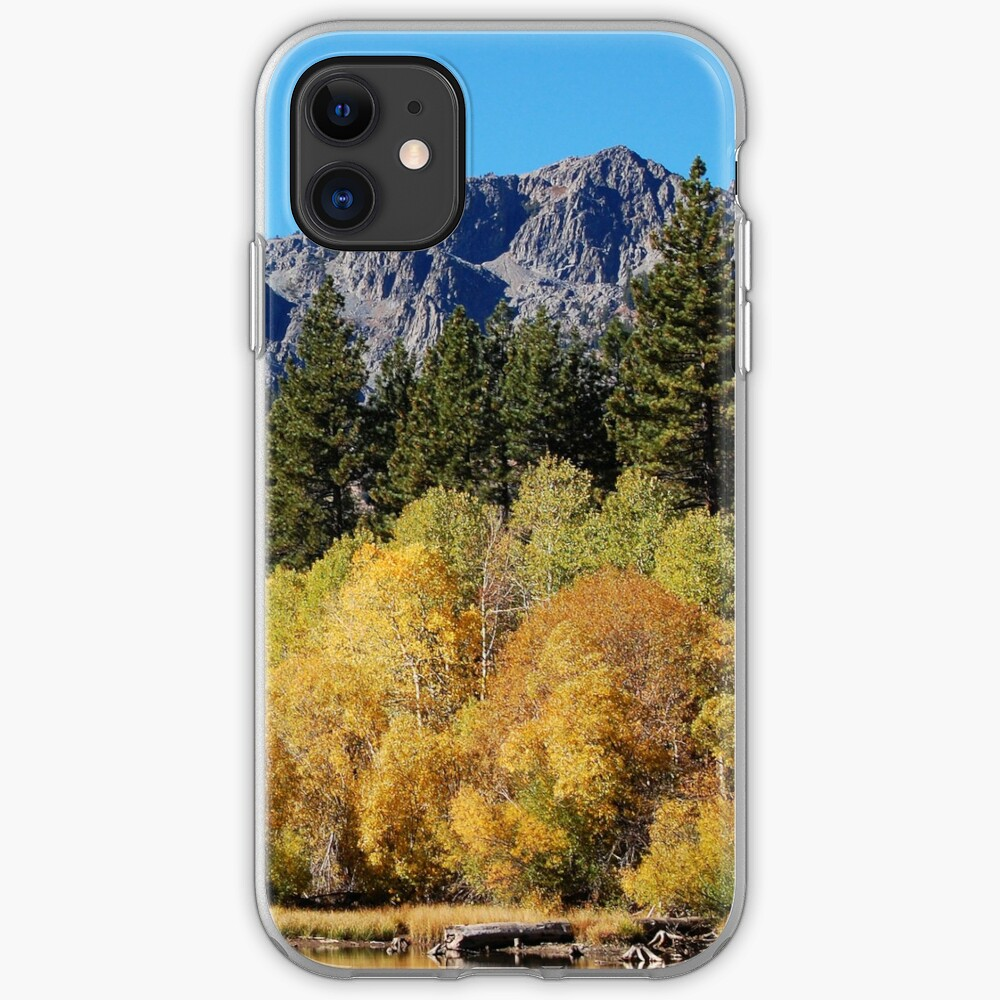 Mount Tallac and Golden Trembling Aspens iPhone Case & Cover
