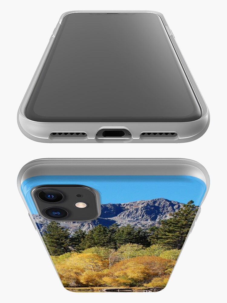Alternate view of Mount Tallac and Golden Trembling Aspens iPhone Case & Cover