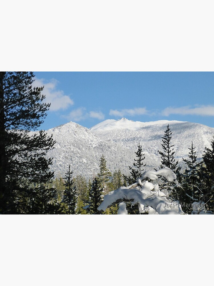 Snowy Freel Peak by JaredManninen