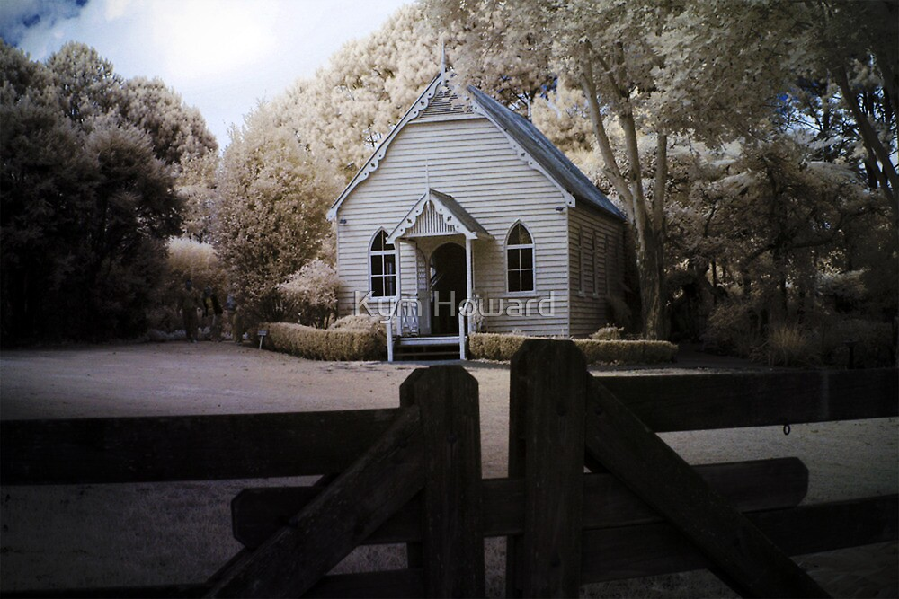 Little Chapel on the Hill by Kym Howard