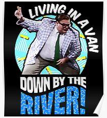 Chris Farley - Matt Foley Nostalgie-Grafik Poster
