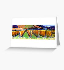 """""""Beyond the Vines""""  SOLD Greeting Card"""