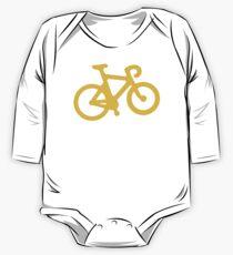 Yellow Bike One Piece - Long Sleeve