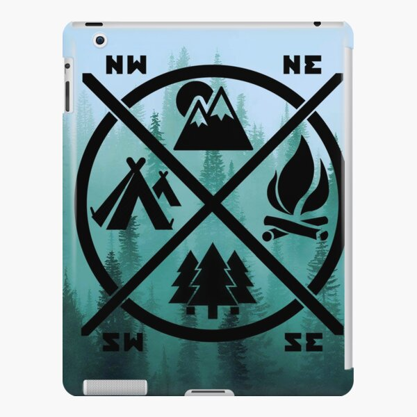 Never stop hiking iPad Snap Case