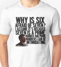 Prime Numbers Unisex T-Shirt
