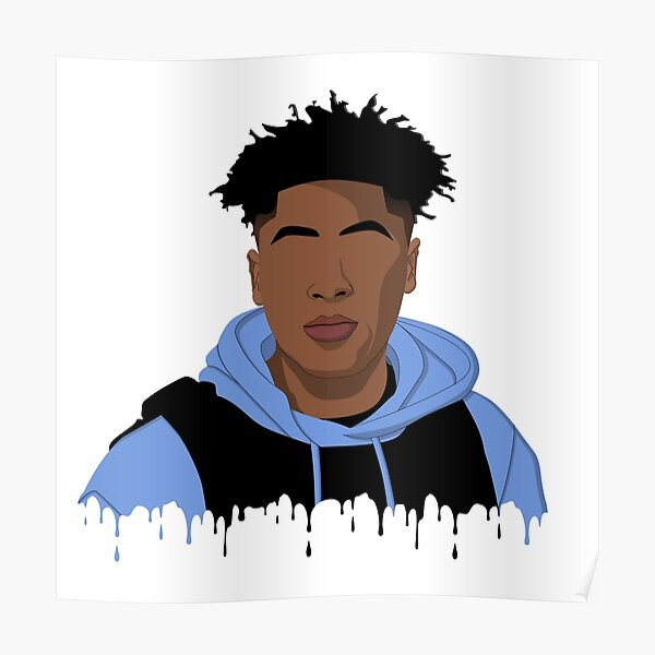 NBA YoungBoy Never Broke Again Simplified Poster