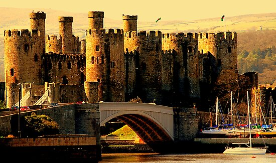 """""""CONWAY CASTLE"""" [for fazza] by snapitnc"""