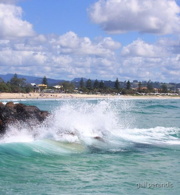 autumn at kingscliff by gail woodbury