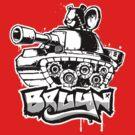 Bruyn Urban Graf 04 - RvB Bear in Tank by Craig Bruyn