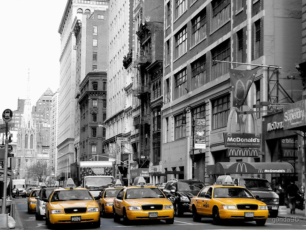 NY Taxis by gunda96
