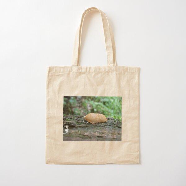 Tiny Snail Cotton Tote Bag
