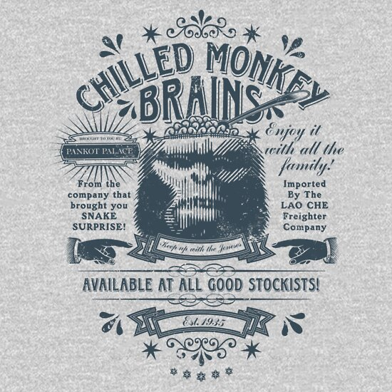 TShirtGifter presents: Chilled Monkey Brains