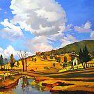 The Old Dairy- Laguna by Guntis Jansons
