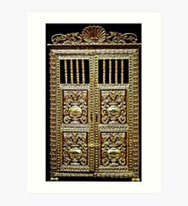 Gilded Cabinet Art Print